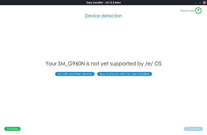 Samsung S9 fail