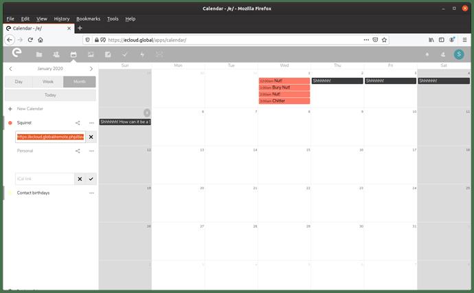 CalendarTripleClick