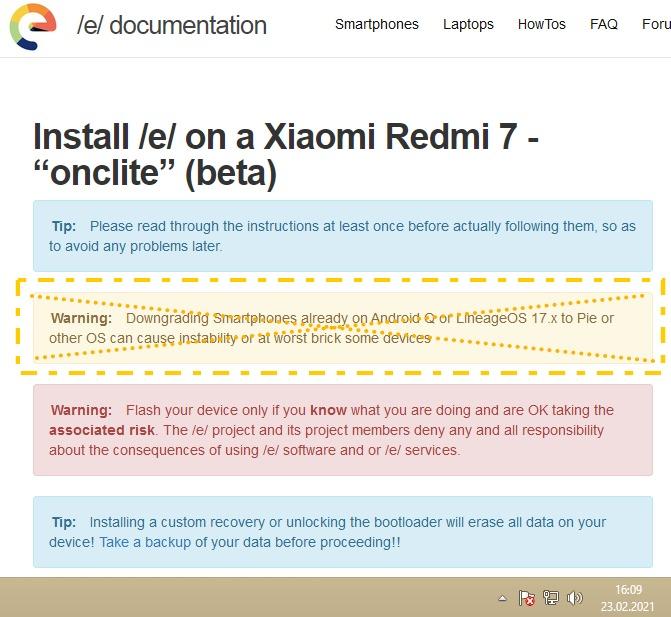 e-os-q Xiaomi-Redmi7-onclite