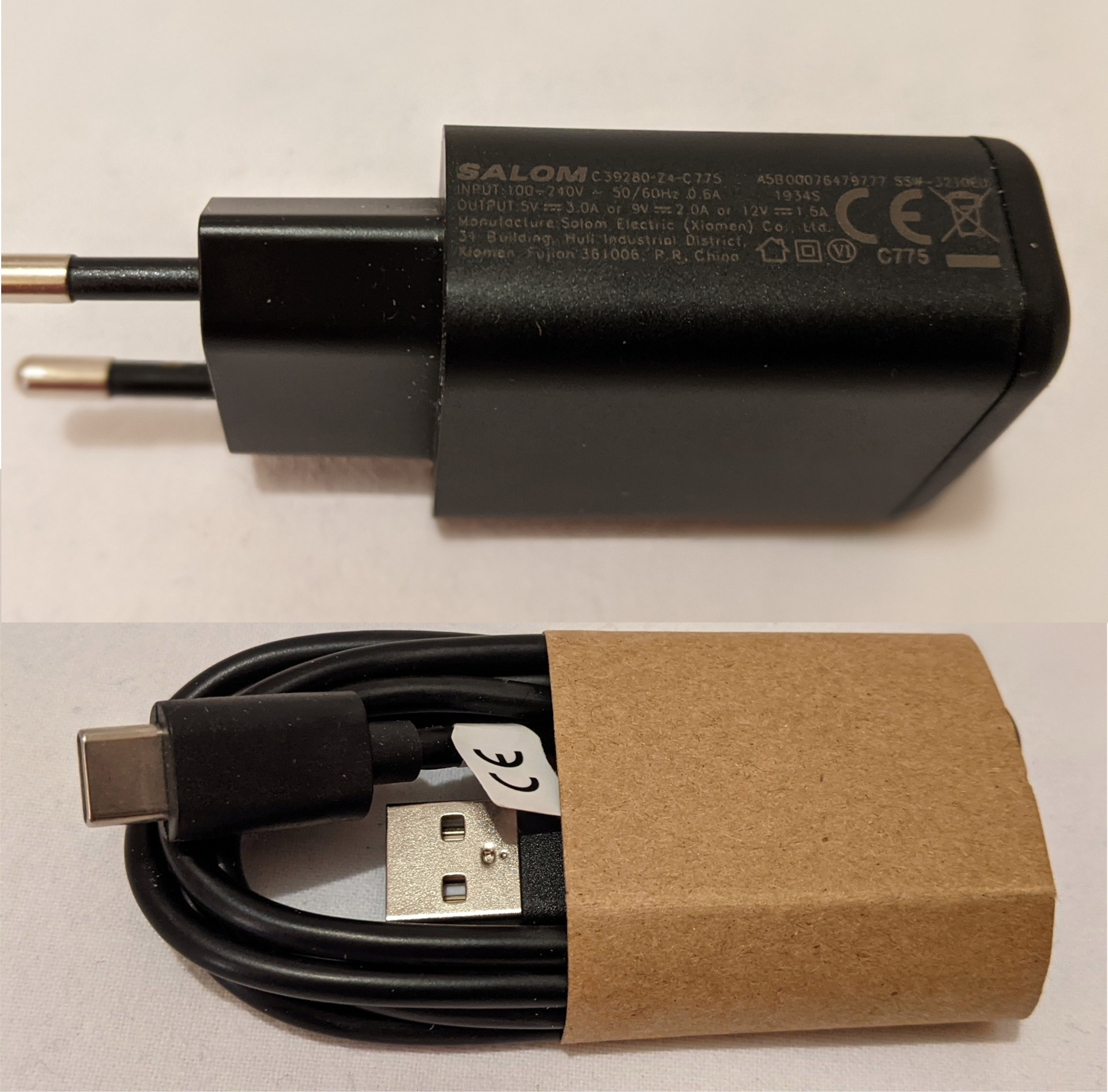 gs290charger18w